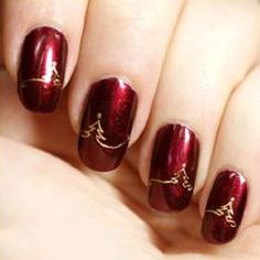 1.0AUD - Christmas Nail Art Stickers Water Decals Decoration Snowflakes Nail Decor Pop #ebay #Fashion