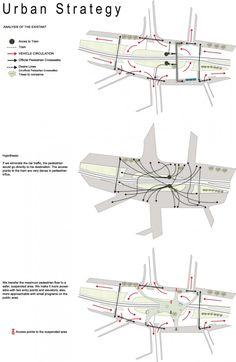 New Visions for Pedestrian Footbridge Design Competition winner / LEA Invent & Burcak Pekin
