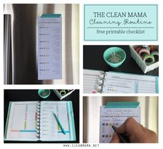 Feel like your drowning in your messy home? Add this manageable routine to your life for some serious change. FREE printable to get you started!
