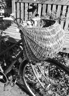 Bicycle Pannier made from Somerset willow