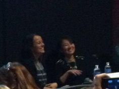 Ally Condie and Marie Lu at #YALLfest - @Tara Smith