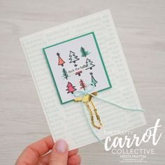 Watercolor Christmas - Crafty Carrot Co Blog Hop
