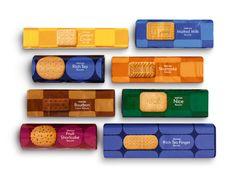Waitrose Biscuit packaging. Designed by Turner Duckworth.
