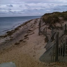 Check out this slideshow Beach Fence in this list 24 Amazing Beaches in the United States