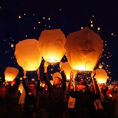 I've never launched a wish lantern before, but it's on my list for sometime in the next 12 months.