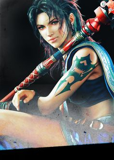 Oerba Yun Fang, Final Fantasy XIII, flawless queen