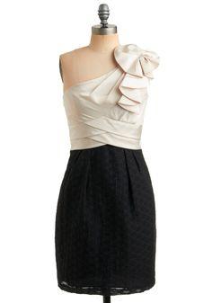 I love one shoulder dresses