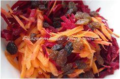 Fűszermánia: Céklás - mazsolás sárgarépa saláta