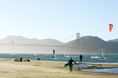 Knockout views. Appealing mix of people. Good coffee. Crissy Field gives you everything you love about San Francisco in one package. A historic Army airfield transformed into a native plant-lined oasis, Crissy draws moms with strollers, kitesurfers, picnickers, dog walkers, cyclists, fishermen, and 8-year-olds letting the cool bay water lap their toes. All this and the Golden Gate Bridge looming gracefully, plus lattes, baked goods, and book browsing at the Warming Hut. Don't miss: Let's Be…