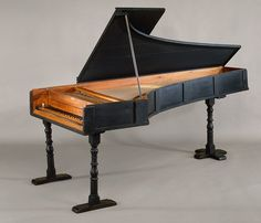 Built in 1720 this is the oldest surviving piano and was made by Bartolomeo Cristofori, the man credited with inventing the first succesful hammer action keyboard.