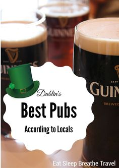 Dublin's Best Pubs