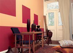 habitacio Marta, color Colores del mundo India melocoton intermedio Ideas decorativas|Inspiración|Bruguer
