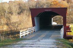 Roseman Covered Bridge - Winterset, Iowa