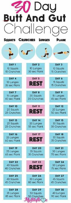 But and intestinal challenge health fitness, 30 day fitness, fit . - Workout at Home Fitness Herausforderungen, Health And Fitness Expo, Fitness Workouts, Physical Fitness, Fitness Motivation, Butt Workouts, Fitness Circuit, Fitness Goals, Fitness At Home
