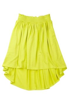 Luxe Rayon Jersey Hi-Lo Skirt by Tween Scene on @HauteLook