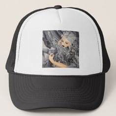 Koi Noir Trucker Hat - marble gifts style stylish nature unique personalize