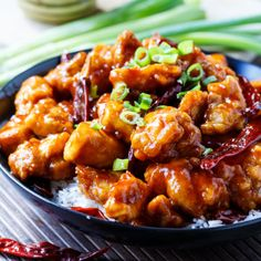 Make your favorite take-out at home. This Sweet and spicy General Tso's Chicken will not disappoint and is sure to be a family favorite!