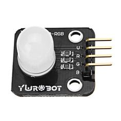 f54321e007f 3Pcs Full Color LED Module 10mm Bright RGB Board Electronic Building Blocks  For Arduino