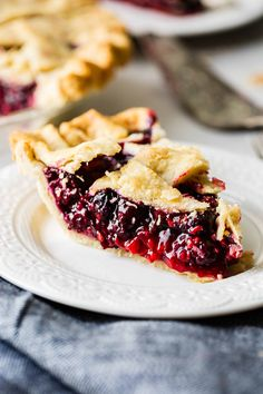 I've searched for the perfect razzleberry pie recipe and I've found it! Razzleberry pie or mixed berry pie has raspberries, blueberries and blackberries. I don't know about you, but I absolutely love pie. Summer Dessert Recipes, Holiday Recipes, Sweet Desserts, Dessert Ideas, Razzleberry Pie Recipe, All You Need Is, Pie Recipes, Cooking Recipes, Basil Recipes