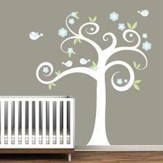 Wall Decals Nursery Tree \