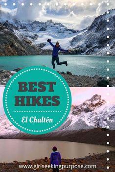 The Best Hikes in El Chaltén, Patagonia South America Destinations, South America Travel, Machu Picchu, Bolivia, Ecuador, Puerto Natales, Hiking Guide, Hiking Gear, Titicaca