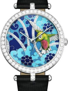 Van Cleef and Arpels Unveils Collection of Hummingbirds Watches Patek Philippe, Amazing Watches, Cool Watches, Watches For Men, Unique Watches, Ladies Watches, Audemars Piguet, Rolex, Hand Watch