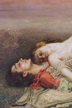 EGUSQUIZA Y BARRENA, Rogelio de (1845-1915) Tristan and Isolt, detail 1910 Oil on canvas, 160.0 x 240.0 cm Bilbao Fine Arts Museum