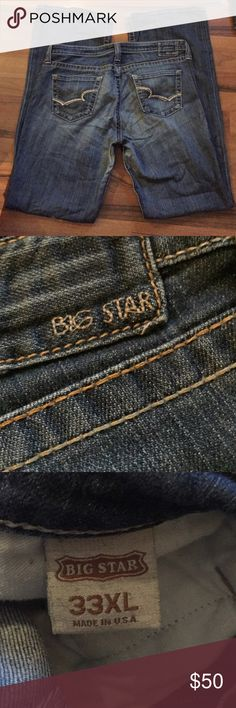 Big star jeans Great condition soft wear no holes or tears Big Star Jeans Boot Cut