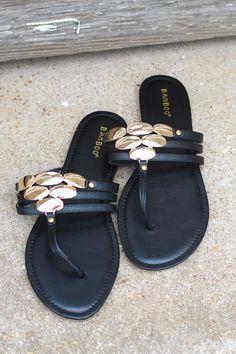 Calebetta Flip Flop {Black}