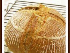 はったい粉の香ばしい♬田舎パン