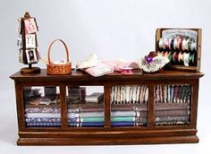 Fabric Counter Display   # Pin++ for Pinterest #