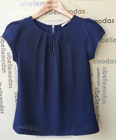 Blouses for women – Lady Dress Designs Blouse Styles, Blouse Designs, Sewing Blouses, Mode Plus, Work Attire, Mode Style, Diy Clothes, Blouses For Women, Fashion Dresses