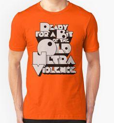 Sharpen you Up T-Shirt - A Clockwork Orange T-Shirt at Redbubble!