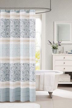 Farmhouse Themed Bathroom Decor Ideas! Find the best farmhouse themed bathroom decor in our shop. Discover the best farmhouse bathroom decor ideas Colorful Curtains, Diy Curtains, Fabric Shower Curtains, Valance, Patterned Curtains, French Curtains, Short Curtains, Elegant Curtains, Yellow Curtains