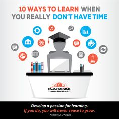 Learn how get extra time for learning. 10 simple, proven ways for managing your day, that can give you up to 7 hour a week extra time. Very important skill.