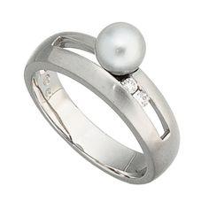 Dreambase Damen-Ring Perle mattiert 14 Karat (585) Weißgo... https://www.amazon.de/dp/B00AWAKSDM/?m=A37R2BYHN7XPNV