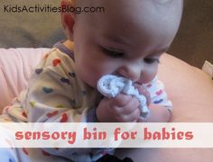 {Oh So Sweet} Sensory Bin for the Babies - Kids Activities Blog