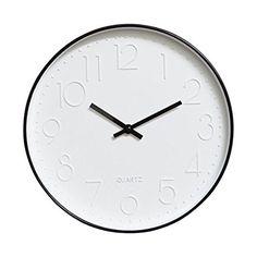 Amazon.com: Foyou 12 Inch Silent Non Ticking Quartz Modern Round Decoretive Wall Clock (Rose Gold): Home & Kitchen