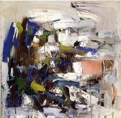 Joan Mitchell - Untitled, 1958 | Flickr - Photo Sharing!