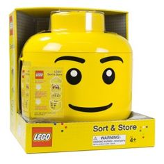 Lego sorting head for lego birthday party ideas for kids