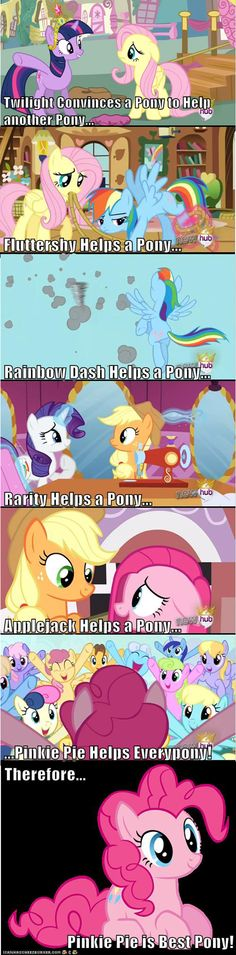 Who's REALLY the Best Pony Here?