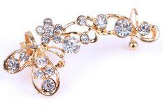 Butterfly Ear Cuff / Clip On Earring Clip On Earrings, Butterfly, Brooch, Accessories, Jewelry, Jewlery, Bijoux, Jewerly, Bowties