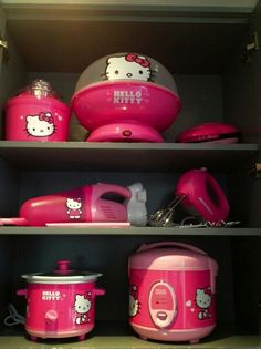 Hello Kitty appliances lol kinda what my kitchen will look like :p