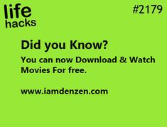Download & Watch Movies Online for Free
