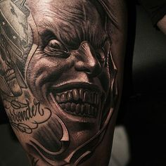 @Regrann from @alex_d_west -  #Museumofmadness #alexdwest #alexanderdwest #tattoo #portrait #ink #inked #realistic #realisme #blackandwhite #tatouage #inkmaster #art #artist #bng #skull #horror #darkness #Regrann