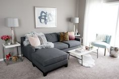 Holiday Living Room Reveal