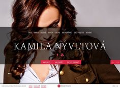 Webové stránky Kamila Nývltová
