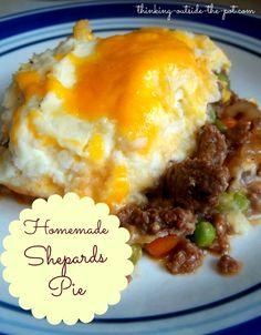 Homemade Shepard's Pie