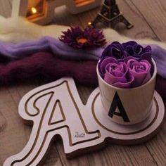 Alphabet Letters Design, Alphabet Names, Cute Letters, Floral Letters, A Letter Wallpaper, Heart Wallpaper, Love Wallpapers Romantic, Cute Wallpapers, Miss U Love