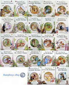 Beatrix Potter Books Collection